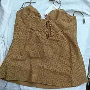 Joie Tops - 🍁Halt4Fall Joie Eyelet Top NWT🍄